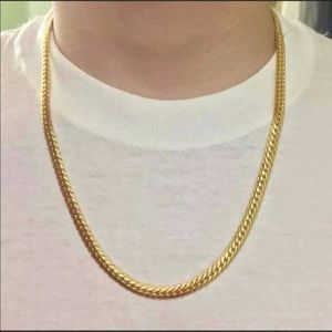 """26"""" New 18K gold chain/ necklace"""